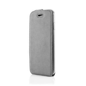 flip case nubuk gray