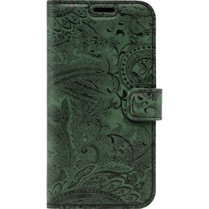 book case ornament dark green