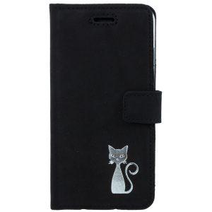 book case nubuk black kot silver