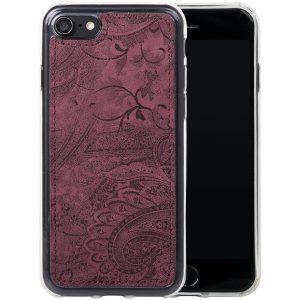 back case ornament burgund