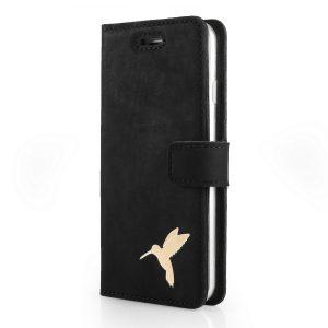 book case nubuk black koliber gold
