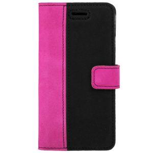 book case duo pion nubuk black pink
