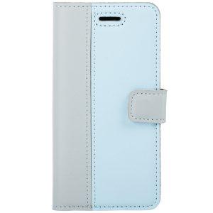 BOOK CASE PASTEL GRAY / BLUE