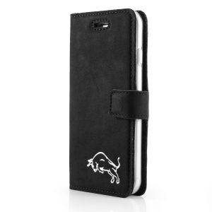 book case nubuk black byk silver