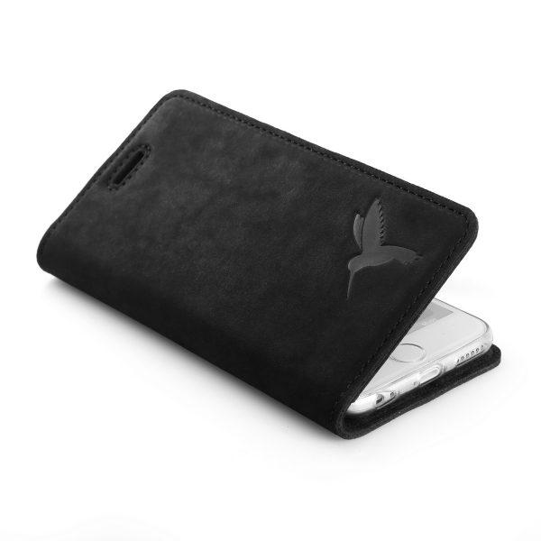 book case nubuk black koliber