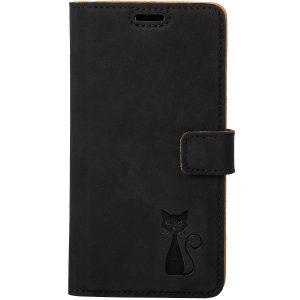 book case nubuk black kot