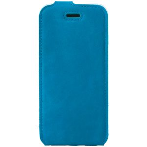 flip case nubuk light blue