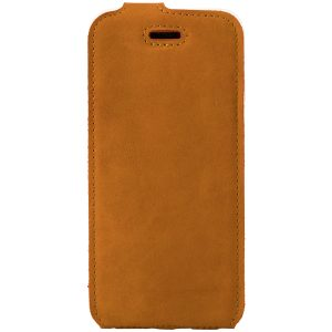 flip case nubuk orange