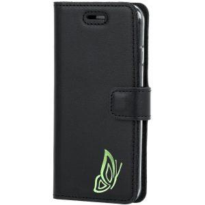 book case costa black motyl green