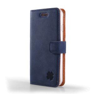 nubuk blue koniczyna book