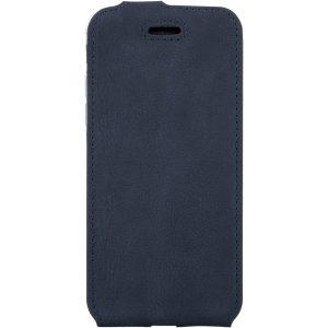 flip case NUBUK BLUE