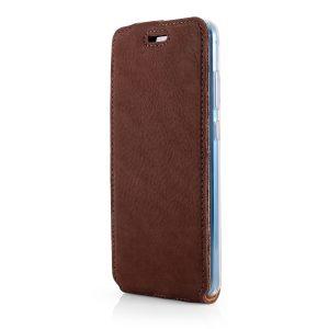 flip case nubuk brown