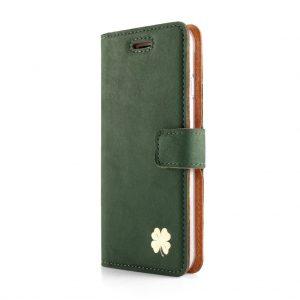 book koniczyna gold nubuk dark green